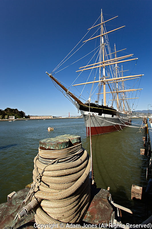 Ship Balclutha, Maritime National Historical Park, San Francisco Bay, San Francisco, California