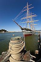 Ship Balclutha, Maritime National Historical Park, San Francisco Bay, San Francisco, California