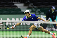 ABN AMRO World Tennis Tournament, Rotterdam, The Netherlands, 15 Februari, 2017, Pierre-Hugues Herbert (FRA)<br /> Photo: Henk Koster