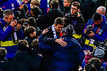 Former captain of Atletico de Madrid Gabriel Fernandez Arenas, Gabi, with his supporters as he attends a tribute in his honor after the La Liga 2018-19 match between Atletico de Madrid and RCD Espanyol at Wanda Metropolitano on December 22 2018 in Madrid, Spain. Photo by Diego Souto / Power Sport Images