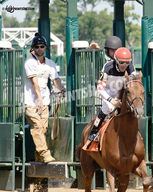 Gate crew at Delaware Park on 8/13/14