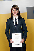 Athletic Girls Winner - Sarah Saddleton. ASB College Sport Young Sportsperson of the Year Awards 2006, held at Eden Park on Thursday 16th of November 2006.<br />
