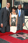 Rick Fox (l) and Forest Whitaker attend a ceremony where actress Angela Bassett receives a star on the Hollywood Walk of Fame in Los Angeles, California on March 20, 2008. Photopro.