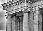 These Doric columns at St. Peter's Square in Rome seem to speak 'power and strength.'