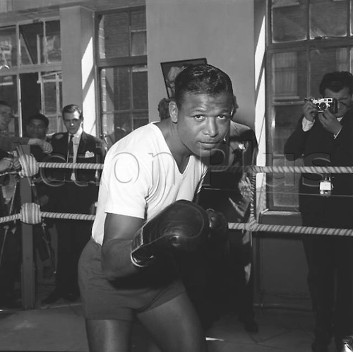 06.09.1962. Sugar Ray Robinson (American Middleweight boxer) 6th September 1962