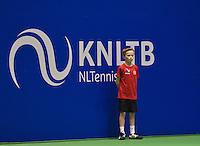 December 16, 2014, Rotterdam, Topsport Centrum, Lotto NK Tennis, Ballboy<br /> Photo: Tennisimages/Henk Koster