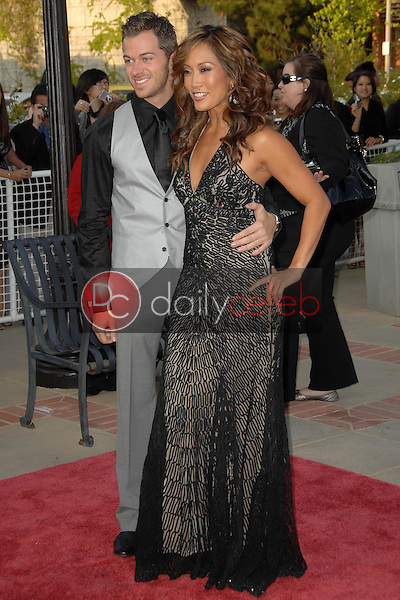 Carrie Ann Inaba and Artem Chigvinsev<br />