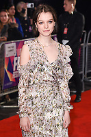 "Esme Creed-Miles<br /> arriving for the London Film Festival 2017 screening of ""Dark River"" at the Odeon Leicester Square, London<br /> <br /> <br /> ©Ash Knotek  D3323  07/10/2017"