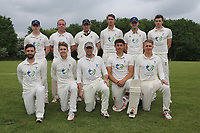 Shenfield pose for a team photo during Shenfield CC (batting) vs Hornchurch CC (Bowling) ,Shepherd Neame Essex League Cricket at Chelmsford Road on 12th May 2018