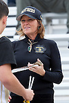 Palos Verdes, CA 11/10/11 - Marylynn Webster on the sidelines before the game against Palos Verdes