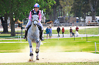 AUS-Tayah Andrew rides Silver Force during the CCI2*YR Cross Country. 2016 AUS-Australian International 3DE. Saturday 5 November. Photo Copyright: Libby Law Photography