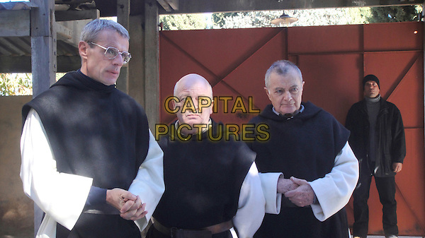 LAMBERT WILSON, JEAN-MARIE FRIN & PHILIPPE LAUDENBACH.in Of Gods and Men .(Des hommes et des dieux).*Filmstill - Editorial Use Only*.CAP/FB.Supplied by Capital Pictures.