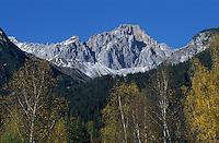 Europe/Autriche/Tyrol/Env Leutasch: Les sommets