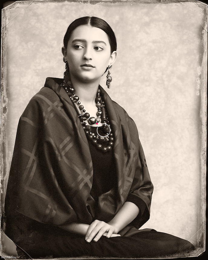 1930s Mexican Frida Kahlo Style. <br />