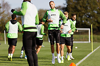 Mike van der Hoorn of Swansea City in action during the Swansea City Training Session at The Fairwood Training Ground in Swansea, Wales, UK. Wednesday 16 October 2019