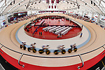 General view, <br /> AUGUST 28, 2018 - Cycling - Track : Men's Team Pursuit at Jakarta International Velodrome during the 2018 Jakarta Palembang Asian Games in Jakarta, Indonesia. <br /> (Photo by MATSUO.K/AFLO SPORT)