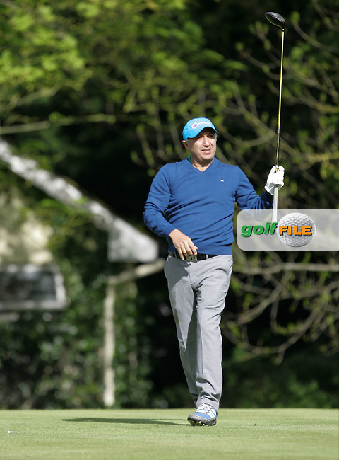 Tareke Farahat during Wednesday's Pro-Am ahead of the 2016 Dubai Duty Free Irish Open Hosted by The Rory Foundation which is played at the K Club Golf Resort, Straffan, Co. Kildare, Ireland. 18/05/2016. Picture Golffile   TJ Caffrey.<br /> <br /> All photo usage must display a mandatory copyright credit as: &copy; Golffile   TJ Caffrey.
