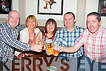 CRAIC: Enjoying themselfs in The Stretford Inn, McHales Bar & Restaurant, Causewaqy on New Years Eve (Monday night) l-r: John and Pauline Walsh, Gretta, Alan and Mark Sheehan.