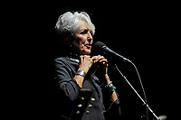 LONDON, ENGLAND - MAY 28: Joan Baez performing at Royal Albert Hall on May 28, 2018 in London, England.<br /> CAP/MAR<br /> &copy;MAR/Capital Pictures
