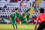 Ylyasov Vezirgeldi of Turkmenistan in action during the AFC Asian Cup UAE 2019 Group F match between Japan (JPN) and Turkmenistan (TKM) at Al Nahyan Stadium on 09 January 2019 in Abu Dhabi, United Arab Emirates. Photo by Marcio Rodrigo Machado / Power Sport Images