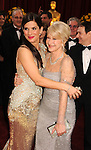 HOLLYWOOD, CA. - March 07: Sandra Bullock and Helen Mirren arrives at the 82nd Annual Academy Awards held at the Kodak Theatre on March 7, 2010 in Hollywood, California.