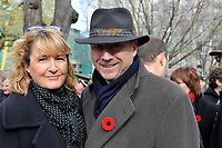 Nov 11, 2012 - Montreal, Quebec, CANADA -  Remembrance Day - Patrick GH Holdich, UK Consul in Montreal