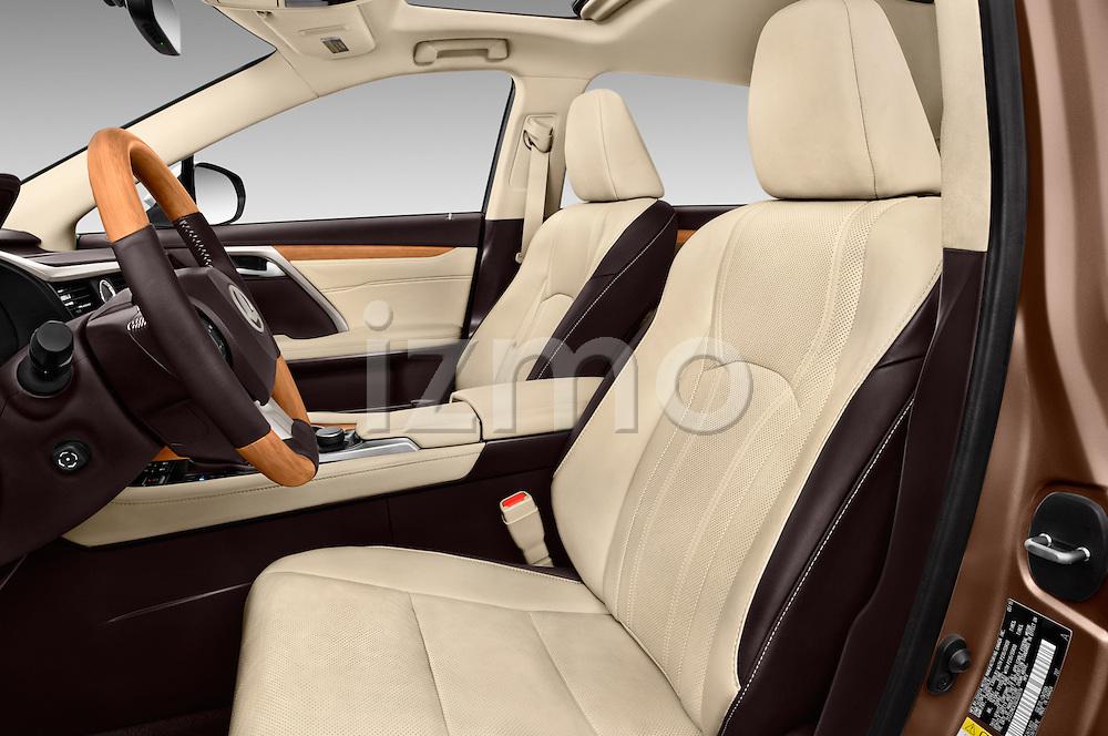 Front seat view of 2016 Lexus RX 350 5 Door SUV Front Seat  car photos