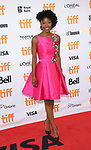 Karimah Westbrook attends the 'Suburbicon' premiere during the 2017 Toronto International Film Festival at Princess of Wales Theatre on September 9, 2017 in Toronto, Canada.