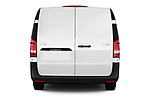 Straight rear view of 2019 Mercedes Benz Vito Select 4 Door Car Van Rear View  stock images