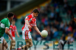 Sean M Ó Conchúir West Kerry in action against  Legion in the Quarter Final of the Kerry Senior County Championship at Austin Stack Park on Sunday.