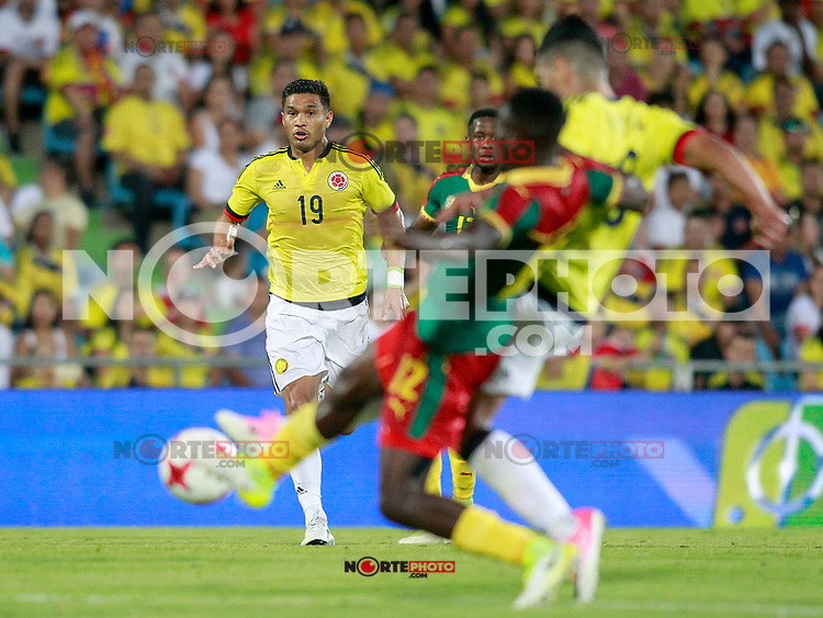 Colombia's Teo Gutierrez during international friendly match. June 13,2017.(ALTERPHOTOS/Acero) (NortePhoto.com) (NortePhoto.com)