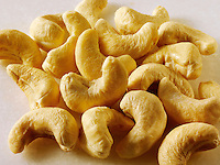 Cashew Nuts. Food photos