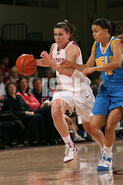 STANFORD, CA - FEBRUARY 1:  Jeanette Pohlen of the Stanford Cardinal during Stanford's 68-51 win over the UCLA Bruins on February 1, 2009 at Maples Pavilion in Stanford, California.