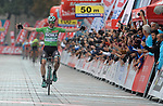 Sam Bennett (IRL) Bora-Hansgrohe wins Stage 6 his 3rd stage win of the 54th Presidential Tour of Turkey 2018, running 132.7km from Bursa to Istanbul, Turkey. 14th October 2018.<br /> Picture: Brian Hodes/VeloImages | Cyclefile<br /> <br /> <br /> All photos usage must carry mandatory copyright credit (&copy; Cyclefile | Brian Hodes/VeloImages)
