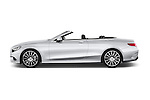 Car Driver side profile view of a 2017 Mercedes Benz S-Class AMG-Line 2 Door Convertible Side View