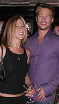 Jennifer Aniston &amp; Brad Pitt<br />