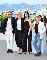 Vincent Perez, Emmanuelle Seigner, Eva Green &amp; Roman Polanski at the photocall for &quot;Based on a True Story&quot; at the 70th Festival de Cannes, Cannes, France. 27 May 2017<br /> Picture: Paul Smith/Featureflash/SilverHub 0208 004 5359 sales@silverhubmedia.com