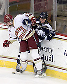 Danielle Welch (BC - 17), ? - The Boston College Eagles and the visiting University of New Hampshire Wildcats played to a scoreless tie in BC's senior game on Saturday, February 19, 2011, at Conte Forum in Chestnut Hill, Massachusetts.