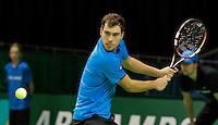 13-02-14, Netherlands,Rotterdam,Ahoy, ABNAMROWTT, Jerzy Janowicz(POL) <br /> Photo:Tennisimages/Henk Koster