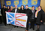 Guests attend the Broadway Opening Night performance for 'Come From Away' at the Gerald Schoenfeld Theatre on March 12, 2017 in New York City.