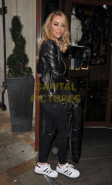 Lauren Pope attends the Hair Rehab London Academy by Lauren Pope launch photocall, Sanctum Soho Hotel, Warwick Street, London, England, UK, on Thursday 12 November 2015. <br /> CAP/CAN<br /> &copy;CAN/Capital Pictures