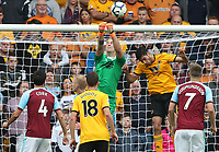 Burnley's Joe Hart makes a save<br /> <br /> Photographer Rachel Holborn/CameraSport<br /> <br /> The Premier League - Wolverhampton Wanderers v Burnley - Sunday 16th September 2018 - Molineux - Wolverhampton<br /> <br /> World Copyright &copy; 2018 CameraSport. All rights reserved. 43 Linden Ave. Countesthorpe. Leicester. England. LE8 5PG - Tel: +44 (0) 116 277 4147 - admin@camerasport.com - www.camerasport.com