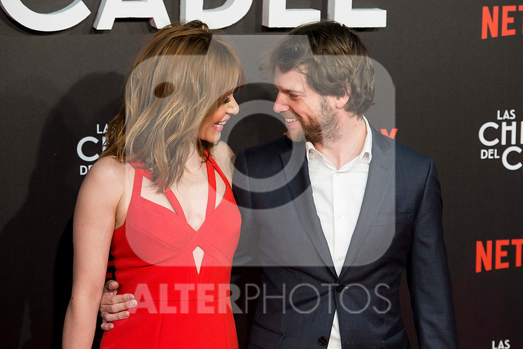 "Maria Adanez and Nacho Medrano attends to ""Las chicas del cable"" premiere at Callao Cinemas in Madrid, April 27, 2017. Spain.<br /> (ALTERPHOTOS/BorjaB.Hojas)"