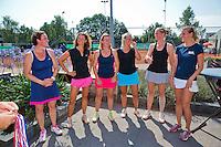Netherlands, Amstelveen, August 23, 2015, Tennis,  National Veteran Championships, NVK, TV de Kegel,  <br /> Photo: Tennisimages/Henk Koster