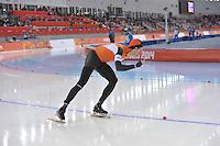 OLYMPICS: SOCHI: Adler Arena, 08-02-2014, 5000 m Men, Jorrit Bergsma (NED), ©foto Martin de Jong
