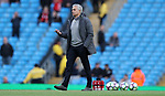 Jose Mourinho manager of Manchester United   before the English Premier League match at The Etihad Stadium, Manchester. Picture date: April 27th, 2016. Photo credit should read: Lynne Cameron/Sportimage