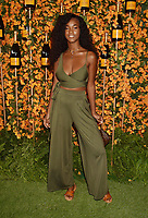 PACIFIC PALISADES, CA - OCTOBER 06: Mariama Diallo arrives at the 9th Annual Veuve Clicquot Polo Classic Los Angeles at Will Rogers State Historic Park on October 6, 2018 in Pacific Palisades, California.<br /> CAP/ROT/TM<br /> &copy;TM/ROT/Capital Pictures