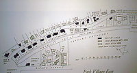Park Village East, Plan by John Nash, 1829-1834. Regents Park.