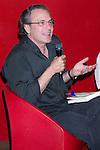 22.06.2012. Presentation in Fnac Callao in Madrid of the book ´Glory Mia' by Manuel Gutierrez Aragon with the presence of actors Jose Coronado and Marta Etura. In the picture: Jose Coronado (Alterphotos/Marta Gonzalez)