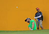 Alejandro Canizares (ESP) on the 18th green during Round 3 of the Maybank Malaysian Open at the Kuala Lumpur Golf & Country Club on Saturday 7th February 2015.<br /> Picture:  Thos Caffrey / www.golffile.ie
